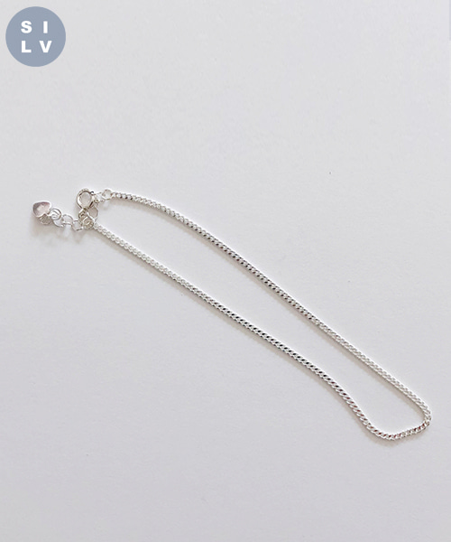 (silver925) chain anklet