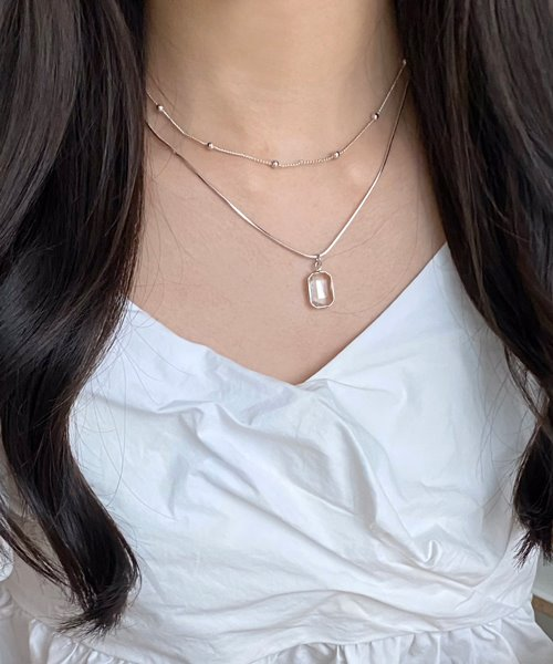 slit necklace set